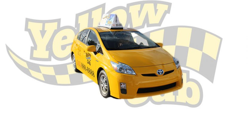 Hybrid Prius Yellow Cab of Arizona Taxi