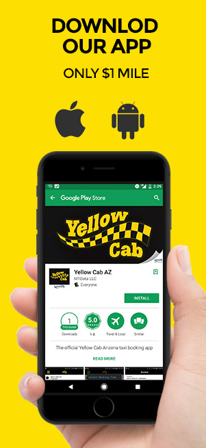 Rates | Yellow Cab Arizona