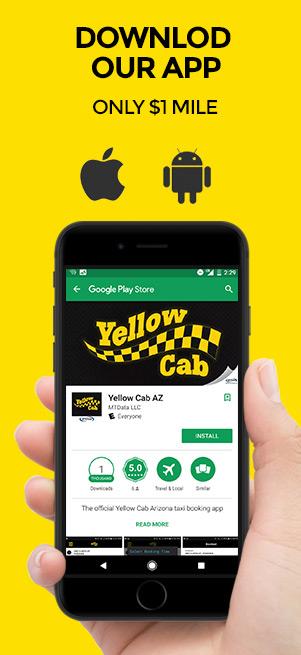 Service Area: Mesa, AZ | Yellow Cab Arizona