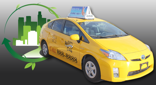 Yellow Cab Going Green
